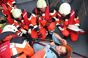 Medical response on board of a ship